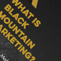 Black Mountain Marketing Sales Manual Project